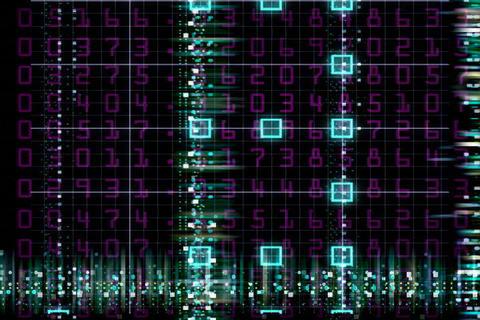 Schematics1 Stock Video Footage