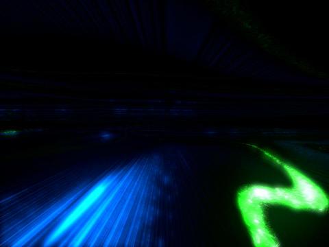 Green Laser TUNN Stock Video Footage