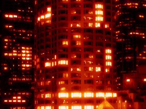 City1 WARM Stock Video Footage
