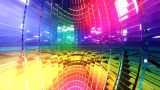 Disco Interior Loop stock footage