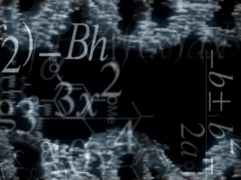 BW Science BG Stock Video Footage