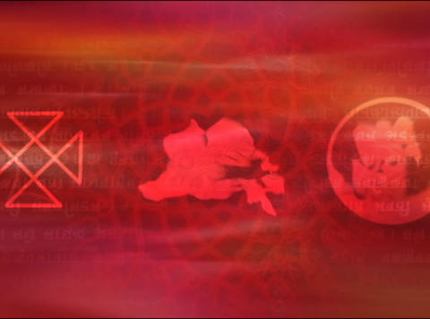 Red Chorus3 Stock Video Footage