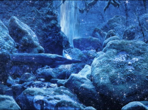 WINTER Rocks(L) Stock Video Footage