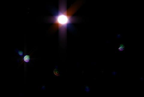 Defocus Blue rnd Glitter sdPJPEG Animation