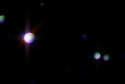Defocus Blue rnd Glitter 1sdPJPEG Stock Video Footage