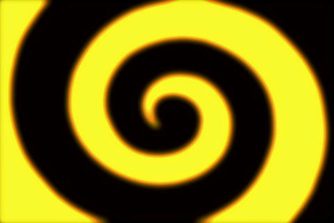 Rings Spiral Golden 2 Stock Video Footage