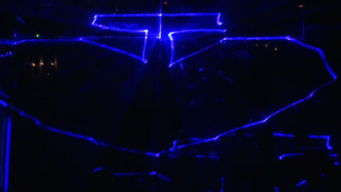 Laser show Footage