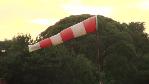 A wind sock Stock Video Footage