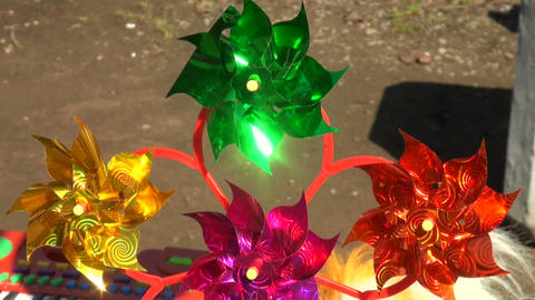 wind spinner Stock Video Footage