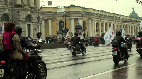 Bikers Stock Video Footage