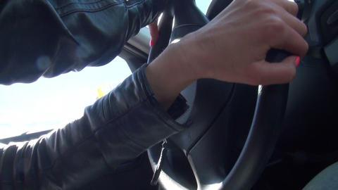 Car wheel Stock Video Footage