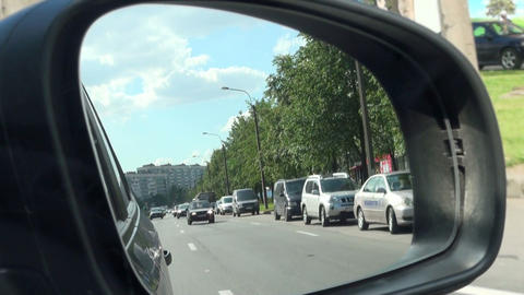 Stream of cars Stock Video Footage