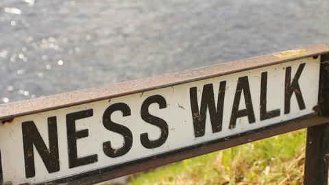 Ness walk, in Inverness Footage