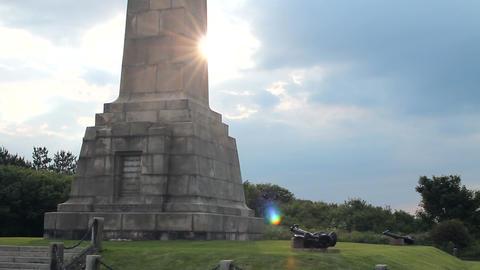 Obelisk of the Dover War Memorial Stock Video Footage