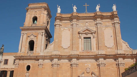 Cathedral of Brindisi Footage