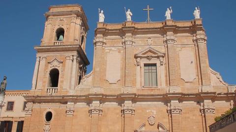 Cathedral of Brindisi Footage
