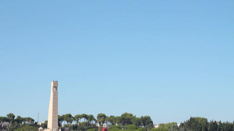 Monumento al marinaio in Brindisi Stock Video Footage