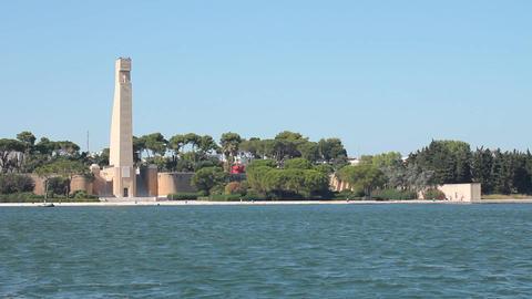 Monumento al marinaio in Brindisi Footage