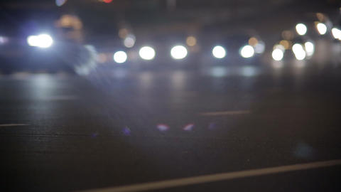 night highway Stock Video Footage