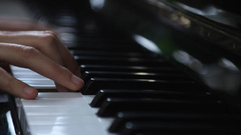 Music and woman practising Stock Video Footage