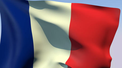 Flag of France Animation