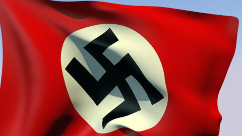 Flag of Third Reich (Germany 1935-1945) Animation