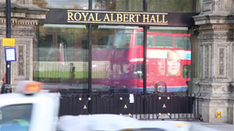 Royal Albert Hall in London Footage