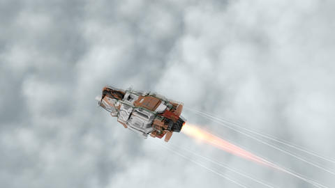 Cruising in the sky Animation