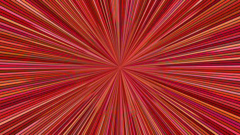 Rotating hypnotic burst stripes - speed concept seamless loop Animación