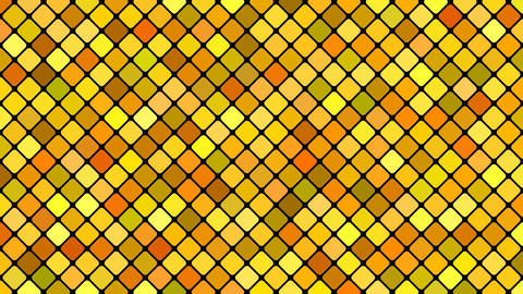 Abstract diagonal square mosaic pattern background - seamless loop 애니메이션