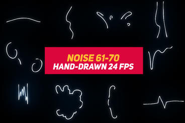 Liquid Elements 3 Noise 61-70 After Effects Template