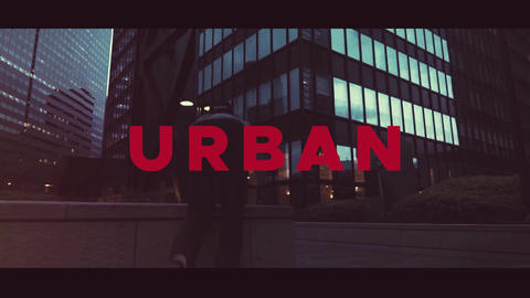Urban Opener After Effects Template