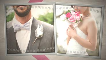 Way to go until the wedding slideshow Plantilla de After Effects