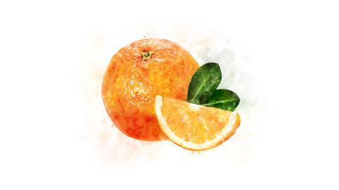 Orange image animation Animation