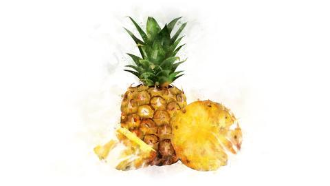 Animated illustration of Pineapple Animation