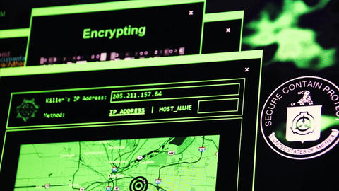 Hacking successful - Cracking the NSA by brute force and IP tracing 4K Live Action