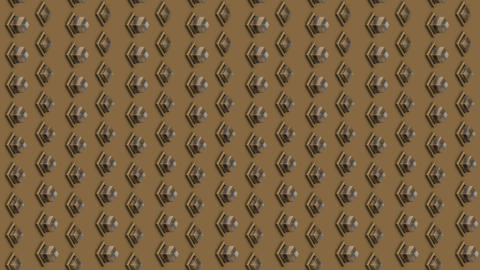 Abstract isometric background glass cubes buttons vertical waves motion Animation