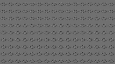 Abstract isometric background gray cubes buttons motion up and down Animation