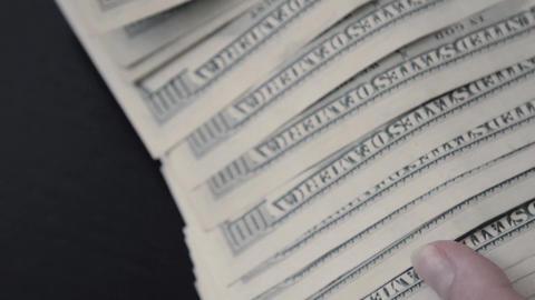 American dollar. Money Live Action