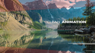 Minimal Clean SlideShow Premiere Pro Template
