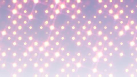 イルミネーションウォール-正面(ループ可能)/ホワイト CG動画