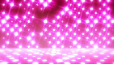 イルミネーションウォール-パン(ループ可能)/ピンク CG動画