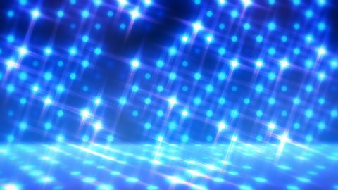 イルミネーションウォール-パン(ループ可能)/ブルー CG動画
