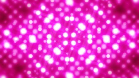 イルミネーションウォール-万華鏡(ループ可能) /ピンク CG動画素材