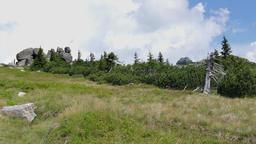 Szrenica Mountain and the Three Pigs rocks. Karkonosze/Krkonose mountains Footage