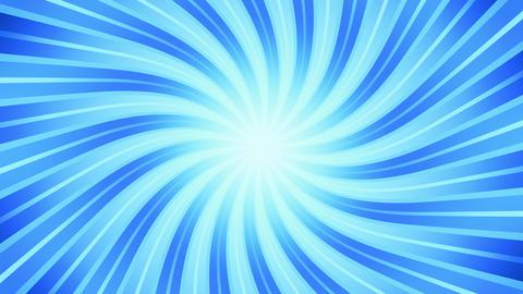 Blue Cooling Sunburst Animation