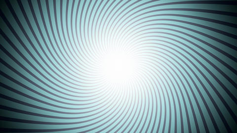 Retro Illusion Sunburst Blue Animation