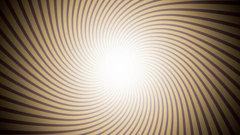 Retro Illusion Sunburst Yellow Animation