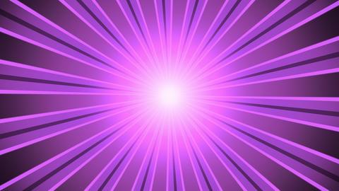 Retro Light Rays Magenta Animation
