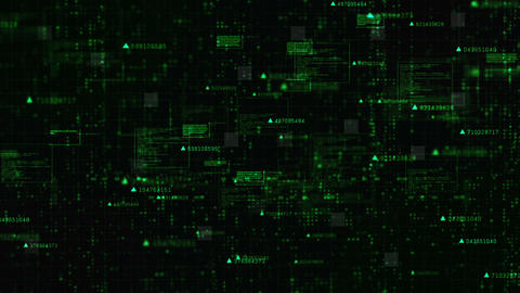 Hi-Tech Digital matrix background 0032 Animation